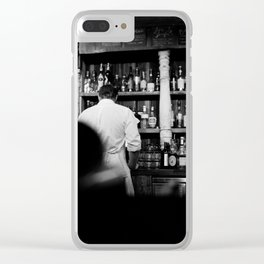 Bar Clear iPhone Case