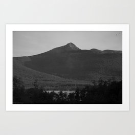Chocorua Lake. Art Print