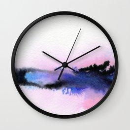 Spiral Fields Wall Clock