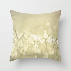morning dew no.3 Throw Pillow