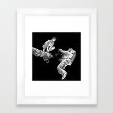 asc 578 - La séparation (Cutting the cord) Framed Art Print
