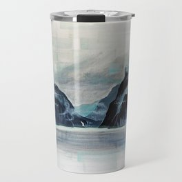 Rectangles - Perspective of Milford Sound Travel Mug
