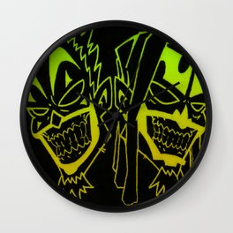 Icp heads Wall Clock