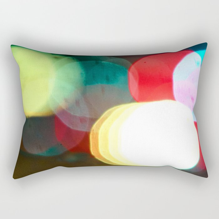 Northern California Lights Rectangular Pillow