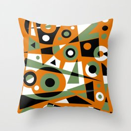 Abstract #977 Throw Pillow