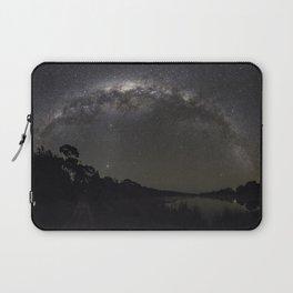 Milkway arching over Muriwai Laptop Sleeve