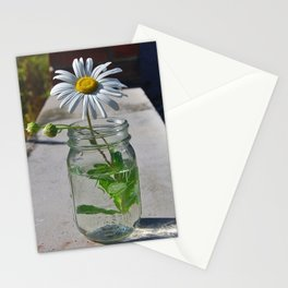Mason Jar 4 Stationery Cards