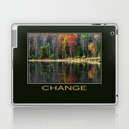 Inspirational Change Laptop & iPad Skin