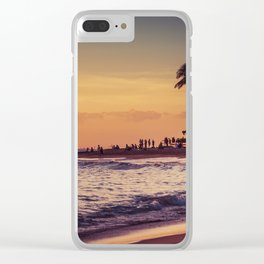 Sunset in Hawaii 0015 Clear iPhone Case