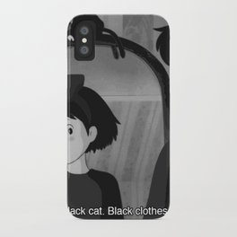 50 shades of black iPhone Case