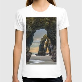The Arches at Cathedral Beach T-shirt