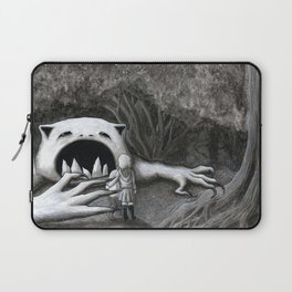 Monster in the Woods Laptop Sleeve