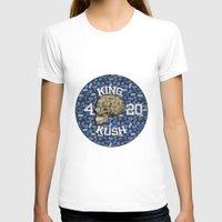 junk food T-shirts featuring junk skull by Martin Naydenov