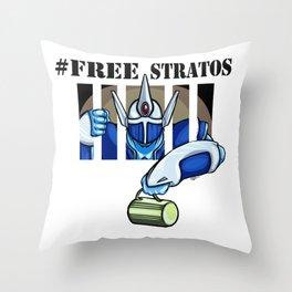 Free Stratos Throw Pillow
