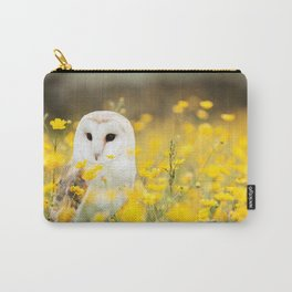 Australian Barn Owl (Tyto Alba) Carry-All Pouch