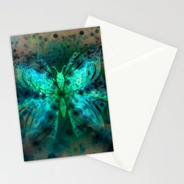 Butterfly Abstract G541 Stationery Cards