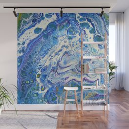 The Shallows Abstract Wall Mural