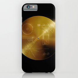 Voyager Golden Record iPhone Case