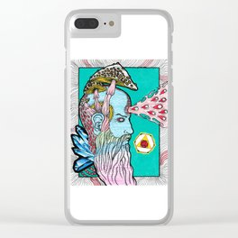 The Alchemist's Brainfart Clear iPhone Case