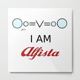 I AM Alfista Metal Print