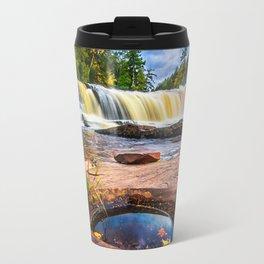 Mandio Falls - Porcupine Mountains Travel Mug