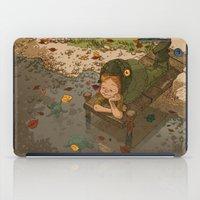 bouletcorp iPad Cases featuring La rivière aux tortues by Bouletcorp
