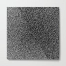 TV static noise Metal Print
