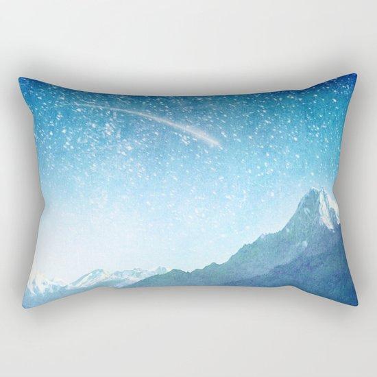 A Brilliant Star Rectangular Pillow