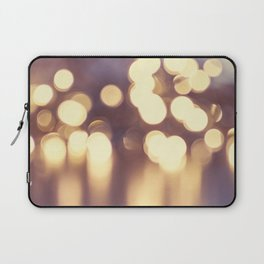 Bokeh lights Laptop Sleeve