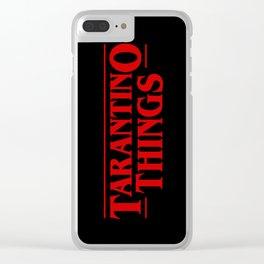 Tarantino Things Clear iPhone Case