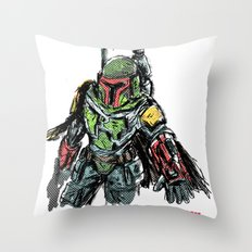 clones of a loser, that's why the empire lost Throw Pillow