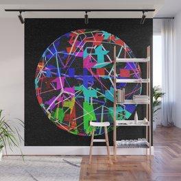 Disco Ball Night Wall Mural