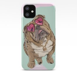 Fashion Bulldog iPhone Case