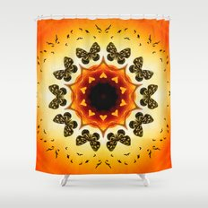 All things with wings Shower Curtain