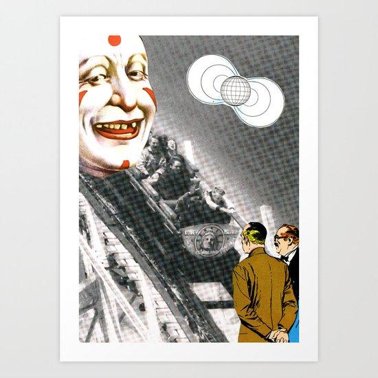 World Of Clowns Art Print