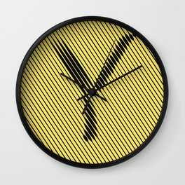 Y from 36 Days of Type   2016 Wall Clock
