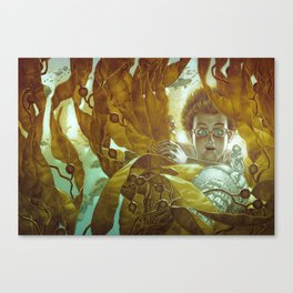 In the Kelp Forest Canvas Print