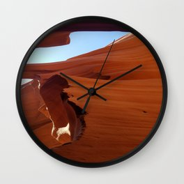 Antelope Canyon #5 Wall Clock
