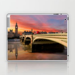 London Sunset Laptop & iPad Skin