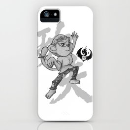 KungFu Zodiac - Monkey iPhone Case