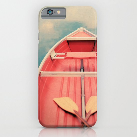 Floating On A Cloud iPhone & iPod Case