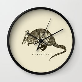 Armadillo power Wall Clock