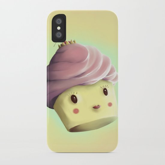Princess Cupcake iPhone Case