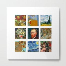 Van Gogh Collection Metal Print