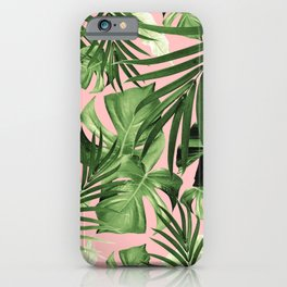 Tropical Jungle Leaves Pattern #11 #tropical #decor #art #society6 iPhone Case