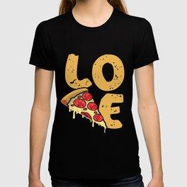 LOVE pizza FUN T-shirt