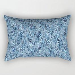 White Water Waves Rectangular Pillow