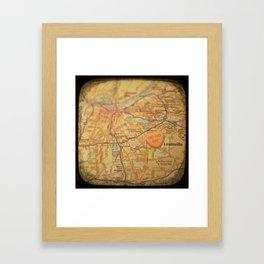 Go Go Go Louisville Framed Art Print