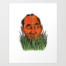 Grassman Art Print