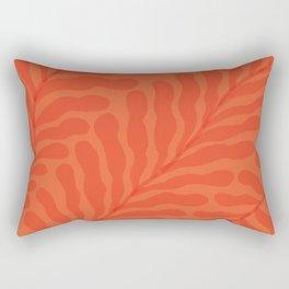 Coral Fern 1 Rectangular Pillow